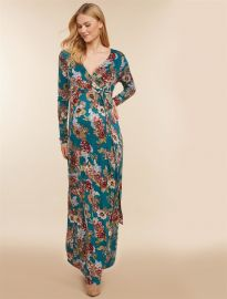 Jessica Simpson Floral Maternity Dress at Motherhood