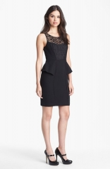 Jessica Simpson Lace Illusion Dress at Nordstrom