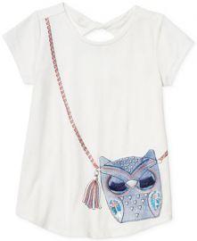 Jessica Simpson Owl Purse T-shirt at Macys