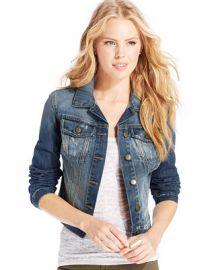 Jessica Simpson Pixie Denim Jacket - - Macys at Macys
