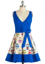 Jess's blue doll dress from ModCloth at Modcloth