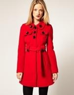 Jess's original red coat on New Girl at Asos