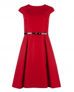 Jess's red dress at Ted Baker