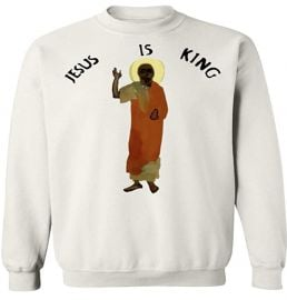 Jesus is King Kanye Sweatshirt at Amazon