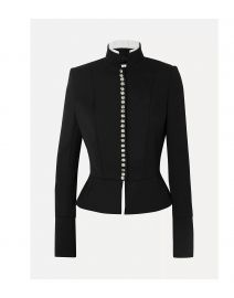 Jewel Button Blazer by Alexandre Vauthier at Yoox