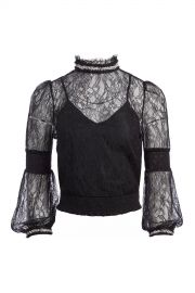 Jewel Crystal Lace Blouse at Orchard Mile
