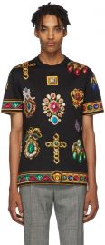 Jewel T-Shirt by Versace at Ssense