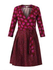 Jewel Wrap Dress by Diane Von Furstenberg at Matches