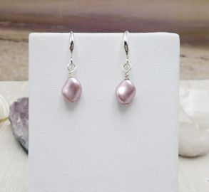 Jewelsforhope Pink Earrings at Etsy