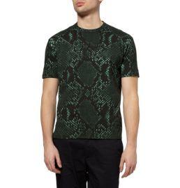 Jil Sander Python Prin T-shirt at Luisaviaroma