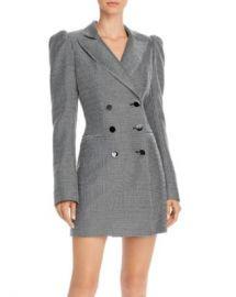 Jill Jill Stuart Checkered Tuxedo Dress Women - Bloomingdale s at Bloomingdales