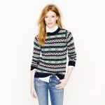 Jills fair isle sweater at J crew at J. Crew