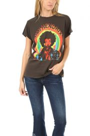 Jimmy Hendrix Print Tee by Madeworn Rock at Blue Cream