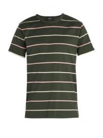 Jimmy wide-stripe T-shirt at Matches