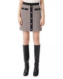 Jivi Tweed Mini Skirt at Bloomingdales