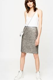 Joan Sequins Skirt at Zadig & Voltaire