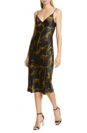 Jodie Leopard Print Silk Slipdress by LAgence at Nordstrom