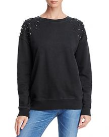 Joe  39 s Jeans Studded-Shoulder Sweatshirt at Bloomingdales