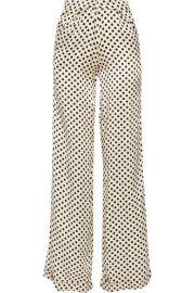 Johanna Ortiz   Capote polka-dot silk-charmeuse wide-leg pants at Net A Porter