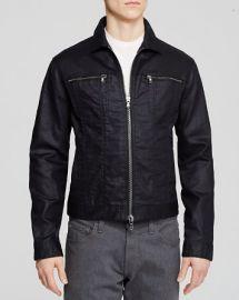 John Varvatos Denim Zipper Jacket at Bloomingdales