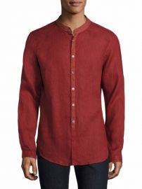 John Varvatos Solid Slim-Fit Shirt at Saks Fifth Avenue