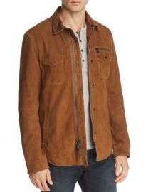 John Varvatos Star USA Camel Shilo Suede Jacket - 100  Exclusive Men - Bloomingdale s at Bloomingdales
