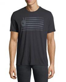John Varvatos Star USA Peace Flag Graphic T-Shirt   Neiman Marcus at Neiman Marcus