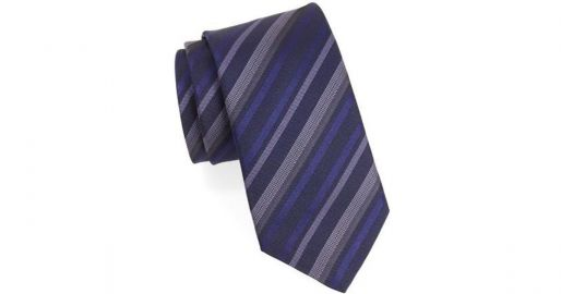 John Varvatos Star USA Striped Silk Tie at Nordstrom