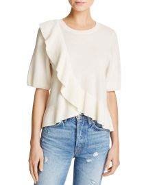 Joie Jayni Ruffled Cashmere Sweater at Bloomingdales