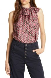 Joie Pascale Sleeveless Silk Top   Nordstrom at Nordstrom