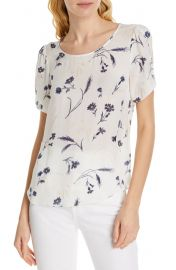 Joie Wira Floral Silk Top   Nordstrom at Nordstrom