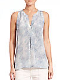 Joie - Aruna Sea Skin Printed Silk Top at Saks Fifth Avenue