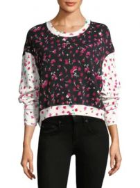 Joie - Caleigh Floral Sweatshirt at Saks Fifth Avenue