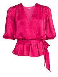 Joie - Macie Wrap Blouse at Saks Fifth Avenue