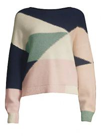 Joie - Megu Colorblock Sweater at Saks Fifth Avenue