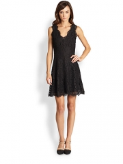 Joie - Nikolina Lace Dress at Saks Fifth Avenue