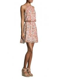 Joie - Reinelde Floral Blouson Dress at Saks Off 5th