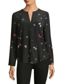 Joie - Silk Peterson Butterfly Blouse at Saks Fifth Avenue