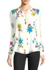 Joie - Yaritza Botanical Print Blouse at Saks Fifth Avenue