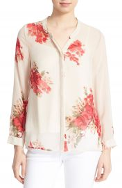 Joie  Devitri  Silk Shirt at Nordstrom