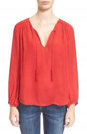 Joie  Odelette  Silk Shirt at Nordstrom