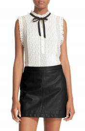 Joie  Toledo  Sleeveless Silk Blend Top at Nordstrom