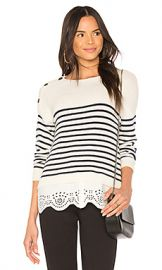 Joie Aefre Sweater in Porcelain  amp  Midnight from Revolve com at Revolve
