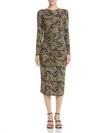 Joie Aja Long-Sleeve Paisley Midi Dress Women - Bloomingdale s at Bloomingdales