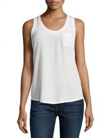 Joie Alicia Racerback Pocket Tank at Neiman Marcus
