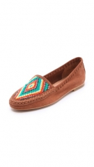 Joie Aliso Beaded Moccasin Flats at Shopbop