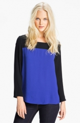 Joie Aliso Colorblock Top at Nordstrom