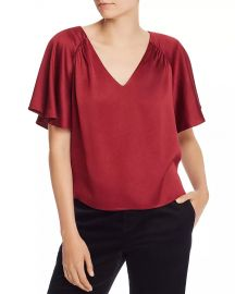 Joie Ankita Top in Garnet at Bloomingdales