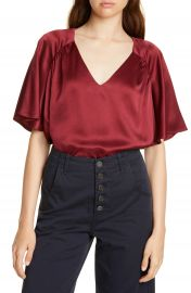 Joie Ankita V-Neck Raglan Top   Nordstrom at Nordstrom