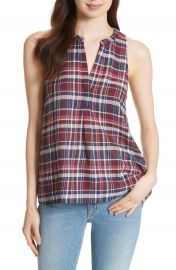Joie Aruna Plaid Top at Nordstrom